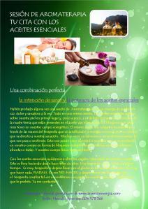 sesión aromaterapia