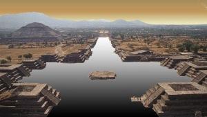 teotihuacan cruz agua