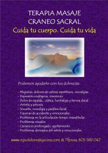 Terapia masaje craneo sacral