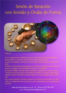 terapia sanación con sonido y formas