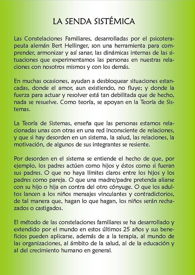 LA MIRADA SISTÉMICA - MALLORCA 1