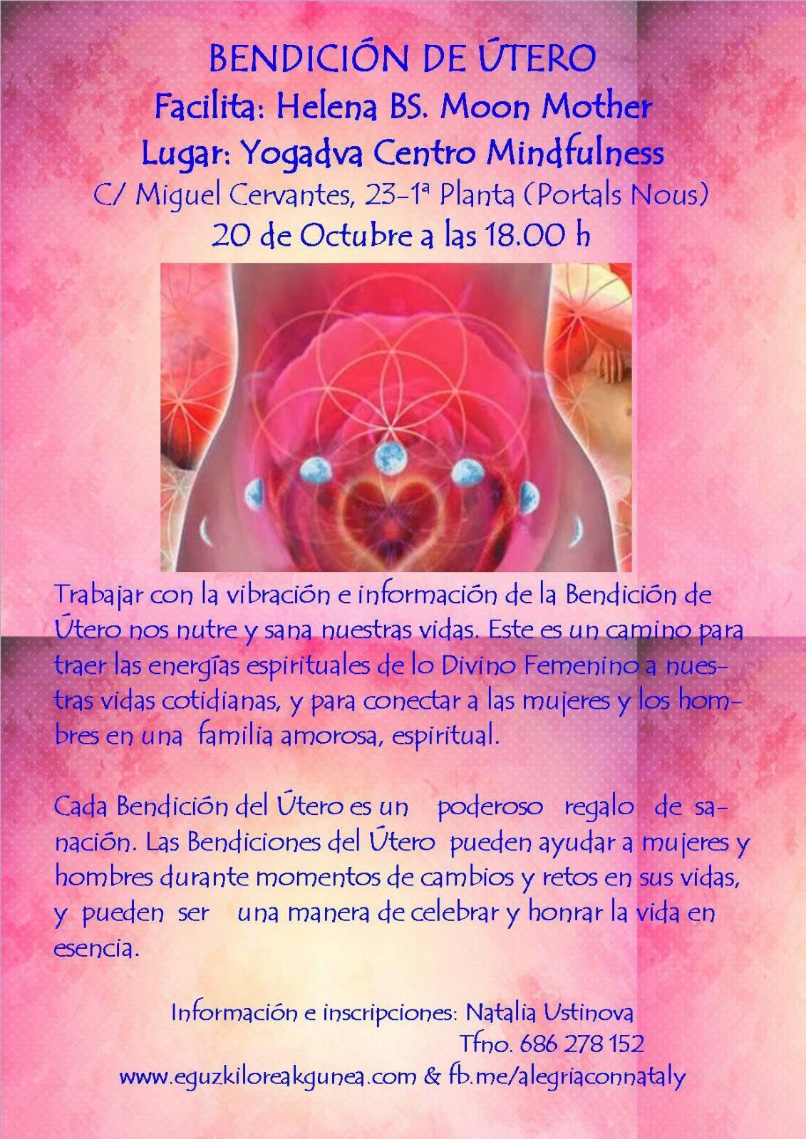 BENDICIÓN DE ÚTERO 20 DE OCTUBRE EN PALMA DE MALLORCA