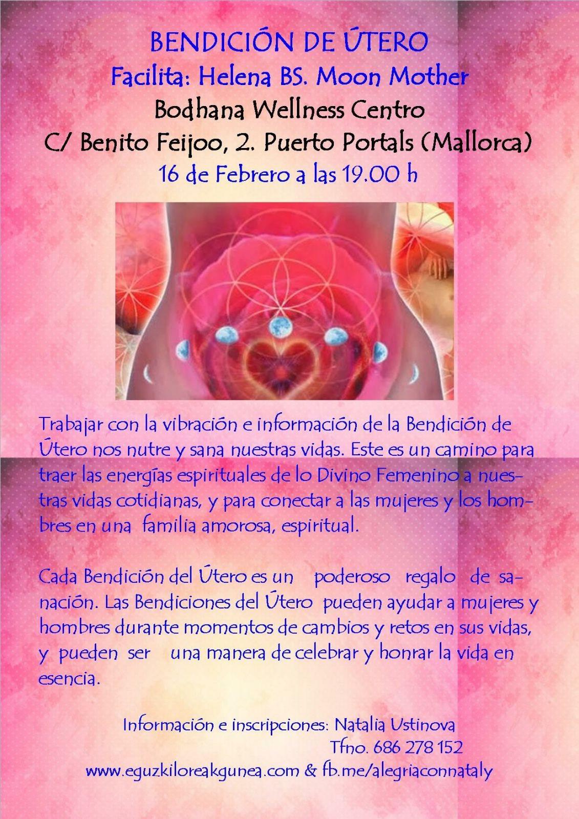 BENDICIÓN DE ÚTERO EL 16 DE FEBRERO EN PALMA DE MALLORCA. FACILITA: HELENA BS